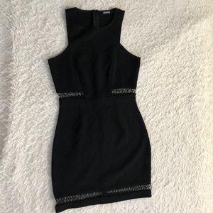 Misguided black mini dress.